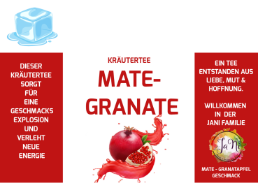 Kräutertee Mate-Granate