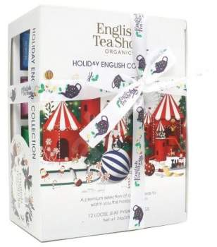 Teegeschenk Holiday English Collection White
