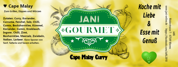 Cape Malay Curry - der Vielseitige