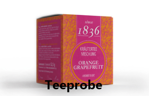 Probe Kräuterteemischung Orange/ Grapefruit