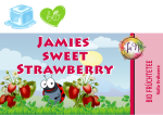 Bio Früchtetee - Jamies Sweet Strawberry